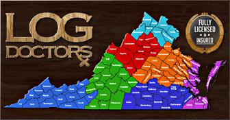 Log Home Repair Virginia
