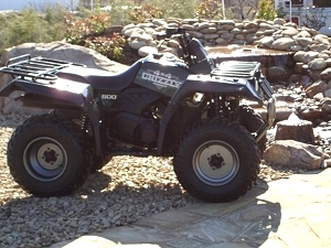 Yamaha Grizzly Atv 600
