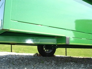 2010 All Steel 6 x 10 Open Landscape Trailer New