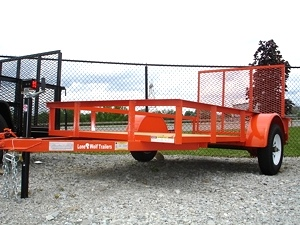 2011 5 x 10 Utility Trailer Ramp Gate