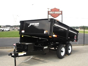 Homesteader Dump Trailer 6X10 MB