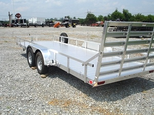 7X20 Homesteader Aluminator Trailer