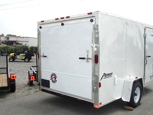 Homesteader 7 X 12 Enclosed Caro Trailer Ramp Door Pkg