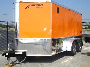 2012 Homesteader EZ Rider Enclosed Trailer