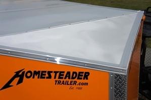 Homesteader 6 X 12 PS Patriot Enclosed Trailer