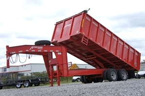 Homesteader Dump Trailer 8 X 18