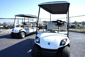 6 Passeneger Gas Yamaha Golf Car  Sold