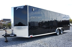 Homesteader 20 X 8.5 Enclosed Trailer