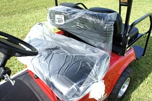 2013 EZGO Valor Gas Golf Utility Car 4 Passenger