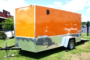 2014 Homesteader Enclosed Trailer Ramp Door Pkg