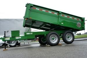Homesteader 6 X 10 LB Dump Trailer New