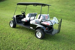 2017 EZGO Express L6 6 Passenger Car 2 Year Warranty