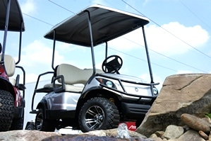 Yamaha Adventure 2 + 2 48 Volt Elect Four Passenger Golf Car Utility Cart