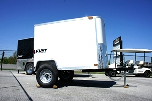 4 X 6 Homesteader Fury Enclosed Trailer