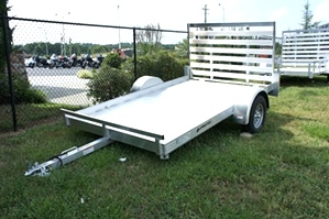 Homesteader 6 X 10 Aluminum Trailer