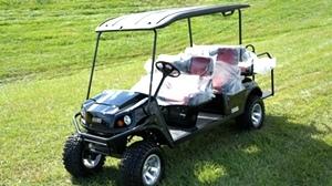2017 Demo  EZGO Express 6 Passenger Golf Cart L6