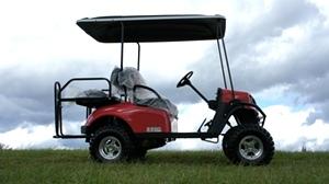 2017 EZGO Express S4 Gas Golf Cart