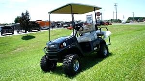 EZGO Express  S4 HO High Output 48 Volt Golf Cart