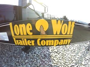 Lone Wolf Heavy Duty 10K Equipment Trailer