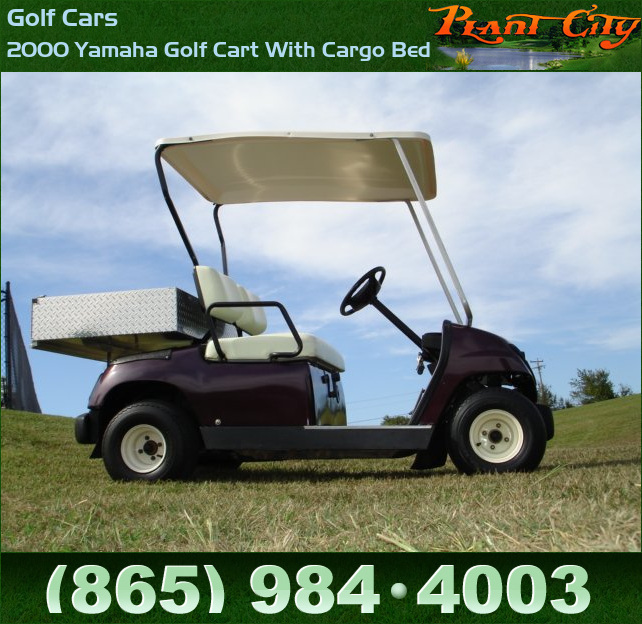 Tn Golf Cars 2000 Yamaha Golf Cart With Cargo Bed Golf Cars Tennessee Golf Carts And Golf Cart Trailers Bad Boy Mowers For Sale At Plant City