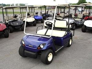 Tn Golf Cars 2000 Yamaha Golf Cart With Rear Fold Down Seat Pre