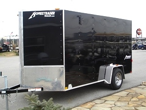 Patriot V Nose Motorcycle Enclosed Trailer
