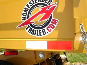 6 X 10  Homesteader Dump Trailer Call 865-984-4003
