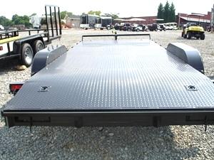 Lone Wolf Steel Floor Show Car Hauler