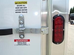 Homesteader 7 X 12 Enclosed Caro Trailer Ramp Door Pkg