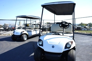 6 Passeneger Gas Yamaha Golf Car  Sold