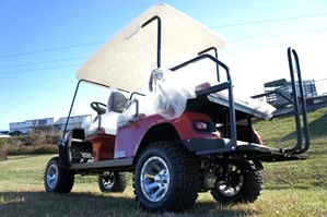 EZGO Express L6 6 Passenger Car 2 Year Warranty