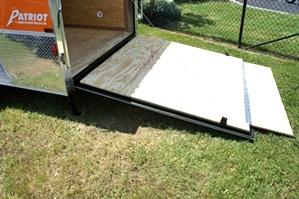 2015 Homesteader Enclosed Trailer Ramp Door Pkg