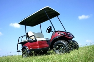 Yamaha Adventure 2 + 2 EFI Four Passenger Golf Car Utility Cart