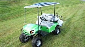 EZGO Express S4 Gas Golf Cart