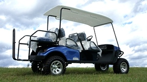 EZGO Express 6 Passenger Golf Cart L6