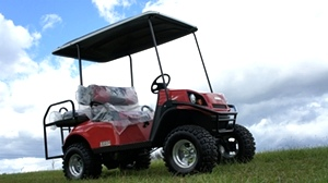 EZGO Express Golf Carts