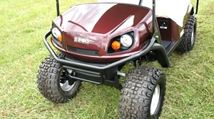 EZGO Express S4 Gas Golf Cart