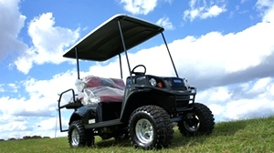 2017 EZGO Express S4 Gas Golf Cart