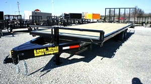 2018 Lone Wolf Atv Golf Car Bumper Pull Trailer