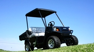 EZGO Terrian 250 Utility Cart Golf Car New Alum Wheel Pkg